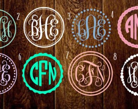 circle border monograms dot circle monogram scallop monogram double boarder monogram pearl