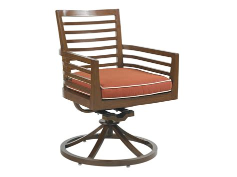 club pacifica swivel rocker dining chair