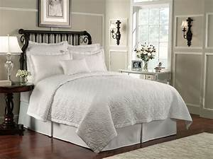 Lismore, Quilt, White, By, Waterford, Luxury, Bedding