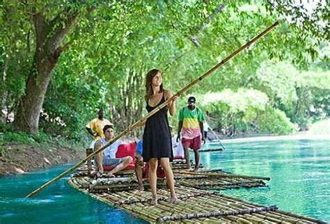 Big Jamaica Boat by Bamboo River Tour At Island Routes Jamaica Picture Of