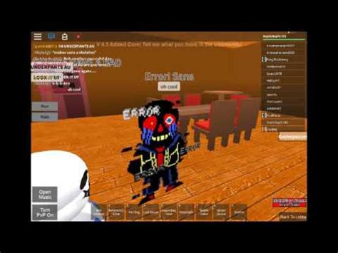 papyrus  sanserror sans plays roblox  youtube
