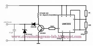 Simple 3 Volt To 9 Volt With Lmc555 Circuit Diagram