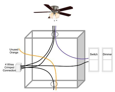 Ceiling Fan Split Light Switches Doityourself