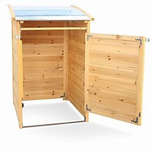 Tonne Aus Holz : m lltonnenverkleidung holz f r 1 tonne bis 120 liter m lltonnenbox ~ Watch28wear.com Haus und Dekorationen