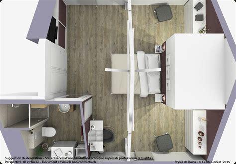 plan de maison 3 chambres 3d projet deco projets 3d de suites parentales