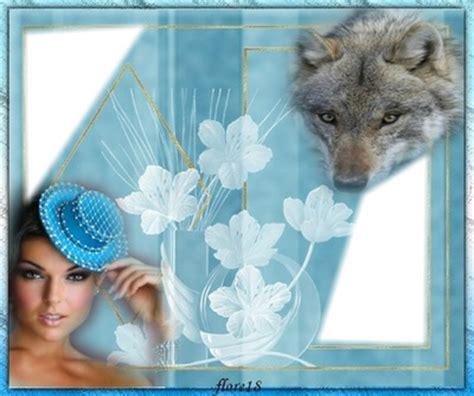 beau cadre pour montage photo montage photo beau cadre avec loup dessus pixiz