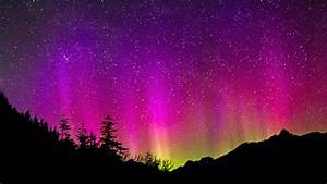 The gallery for --> Real Aurora Borealis Purple