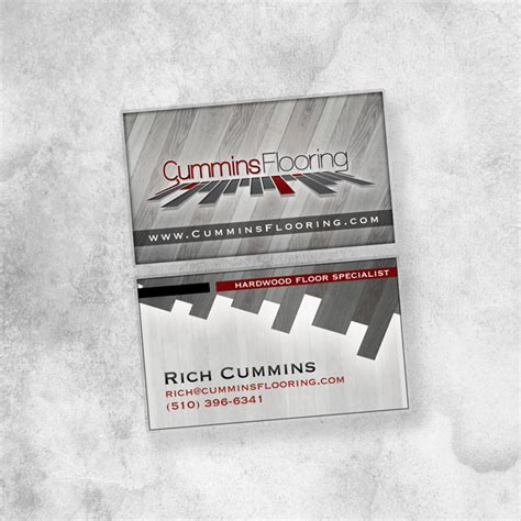 flooring business cummins flooring business card shawn cummins portfolio