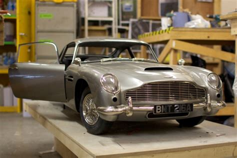 Voxeljet Builds Aston Martin Models For James