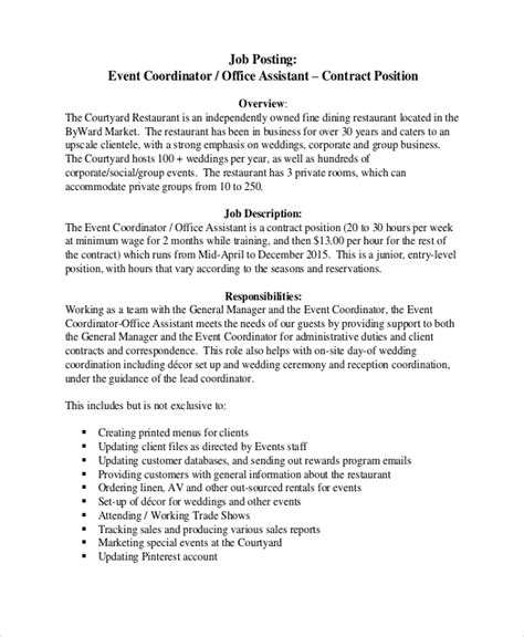 10+ Event Coordinator Job Description Samples  Sample. Educational Resume Examples. Resume Format For B.tech Students. Resume Work Experience Summary. Interest For Resume Examples. Nanny Duties Resume. What Is Summary Of Qualifications On A Resume. Sierra Boggess Resume. Job Resume Formate
