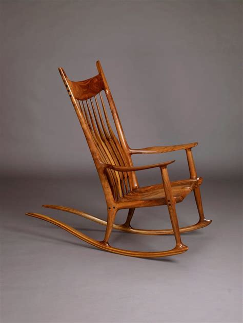 plans  maloof rocking chair woodworking projects plans