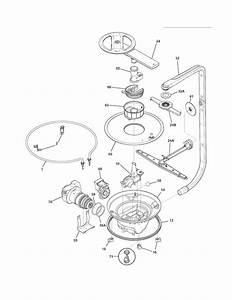 Motor  U0026 Pump Diagram  U0026 Parts List For Model Fghd2465nb1a Frigidaire