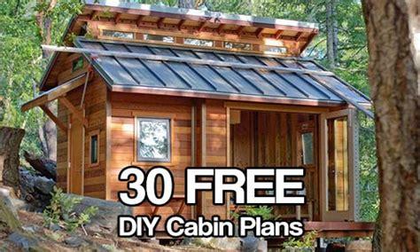 Small Cabin Building Plans Free Diy Cabin Plans, Diy Cabin