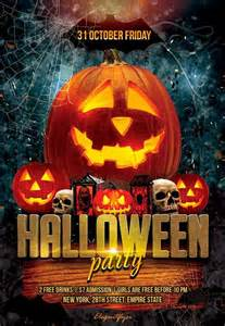 Free Halloween Dance Flyer Templates by Halloween Party Free Flyer Psd Template Http