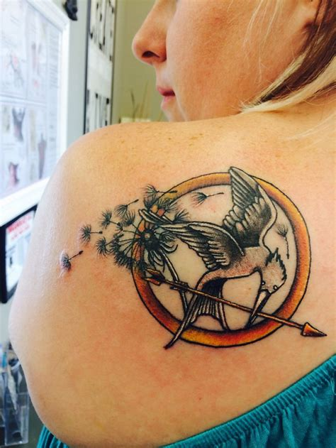 17 Best Images About Hunger Games Tattoos On Pinterest