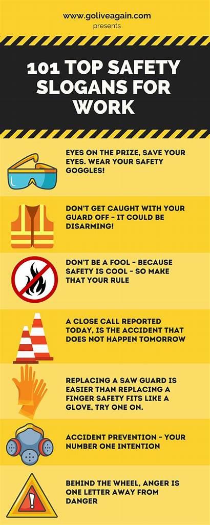 Safety Slogans 101 Osha