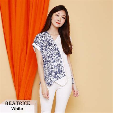 jual baju batik modern wanita murah blouse batik cewek