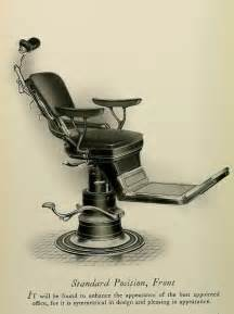 the ritter chair standard position dental dentist antique