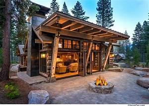 Modern Cabin Design Best Ideas About Mountain Homes On
