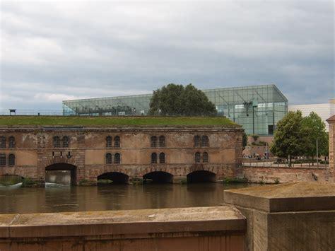 maison d arrt strasbourg file barrage vauban de strasbourg et mus 233 e d moderne et contemporain 224 l arri 232 re plan jpg