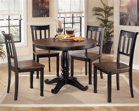 pedestal dining table and chairs