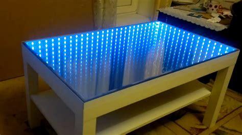 couchtisch mit beleuchtung rgb стол с эффектом туннеля www idea174