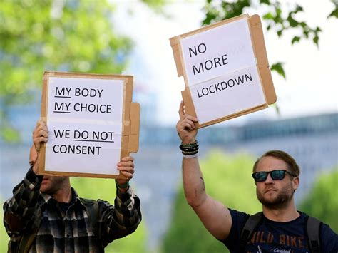 Anti-lockdown protest in London sees man arrested after ...