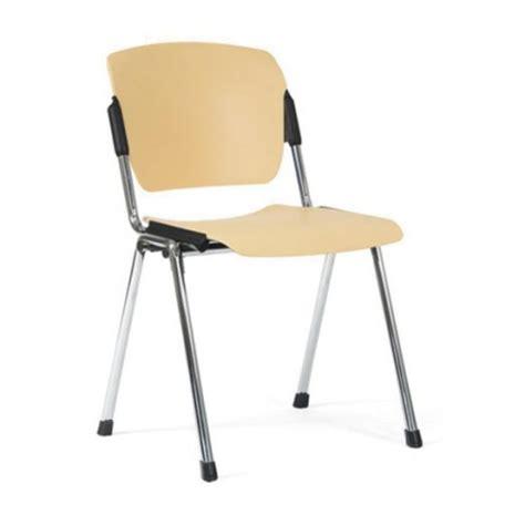 chaise visiteur chaise visiteur chrome et polypropylène chaises