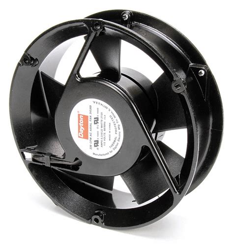 dayton axial fan 6 3 4 quot fan dia 115vac voltage