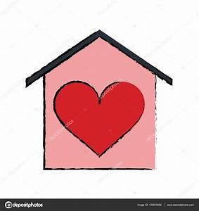 Casa Amore De : cart o de beauitful cartoon casa amor cora o vetores de stock jemastock 133819052 ~ Eleganceandgraceweddings.com Haus und Dekorationen