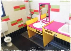 Baignoire Douche Enfant : sanitaire b b enfant petit wc baignoire lavabo douche picture of la grainetiere camping ~ Nature-et-papiers.com Idées de Décoration