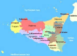 Sicily On Europe Map