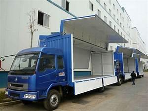 Dump Truck Side Truck Trailer Body Cargo Van Body - Buy ...