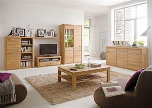 Wohnwand Eiche Massiv Bianco : wohnzimmer eiche massiv bianco 6 teilig wohnwand ~ Bigdaddyawards.com Haus und Dekorationen