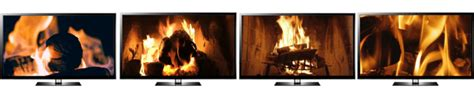 turn tv into fireplace turn my tv into a fireplace with a 4k ultra hd or hd