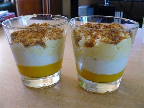 verrine de mousse de mangue recette de verrine de mousse de mangue marmiton