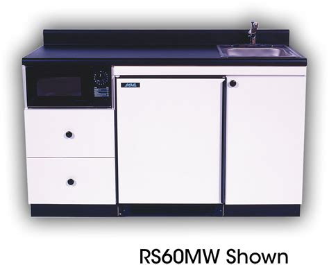 Built In Kitchen Sink by Acme Rs72mw Compact Kitchen With Stainless Steel Sink 0 7