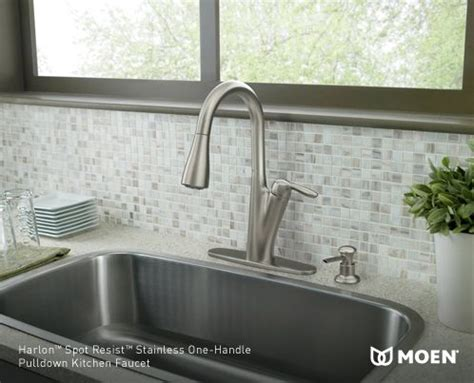 Harlon Kitchen Faucet by Cool Calm And Timeless Harlon Spot Resist Pulldown