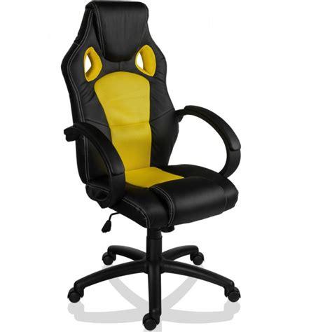 trancheuse cuisine fauteuil de bureau sport racing jaune et noir