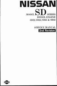 Nissan Diesel Engines Sd22 Sd23 Sd25 Sd33