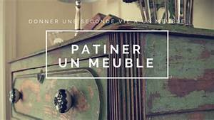Technique De Patine : comment patiner un meuble en bois ~ Mglfilm.com Idées de Décoration