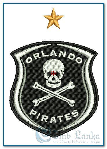 orlando pirates football logo embroidery design emblankacom