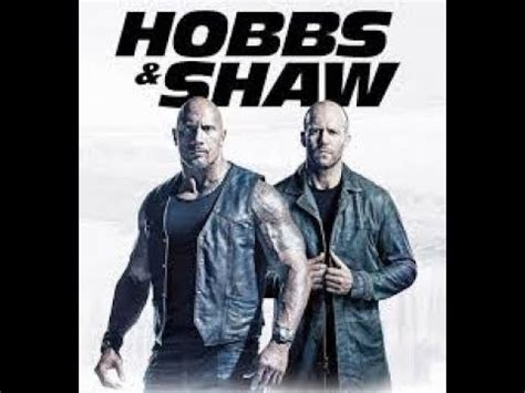 hobbs shaw trailer july   fast  furious dwayne johnson jason statham youtube