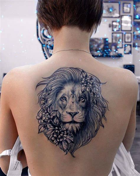 lion tattoos ideas  show strength  bravery