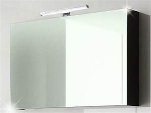 Spiegelschrank Bad 90 Cm : spiegelschrank palma 90 cm schwarz hochglanz bad spiegelschr nke ~ Bigdaddyawards.com Haus und Dekorationen