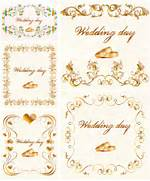 Gilded Wedding Invitation Vector Vector Graphics Blog Set Of Wedding Invitation Cards Design Vector 02 Vector Card Free Free Wedding Invitation Vector Art Unique Wedding 40 Free Vector Background Graphics Vector Graphics Graphic Design
