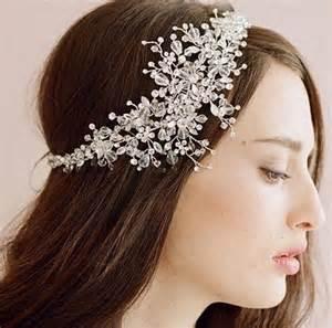 bijoux de tete mariage headband bijou de tête pour mariage en perles by mate mon sac