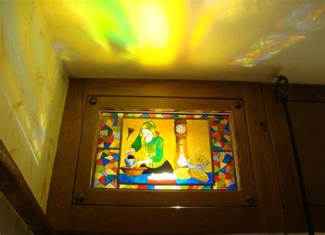peinture pour meubles de cuisine vitraux