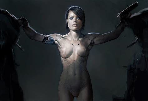 Early Concept Art For Ghost In The Shell Shows Margot
