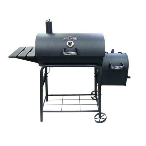 rivergrille cattleman   charcoal grill  smoker